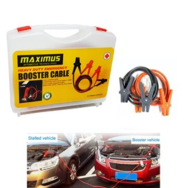 Maximus Heavy Duty Booster Battery Jump Start cables-SehgalMotors.Pk