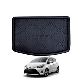 Toyota Vitz Trunk Mat - Model 2014-2019 | Trunk Boot Liner | Cargo Mat Floor Tray | Trunk Protection Mat | Trunk Tray Cover Pad-SehgalMotors.Pk
