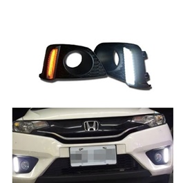Honda Fit DRL Cover Dual color - Model 2013-2017-SehgalMotors.Pk