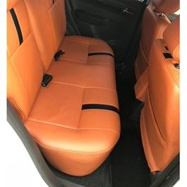 Suzuki Swift Seat Covers Orange with Black Strips - Model - 2010-2020-SehgalMotors.Pk