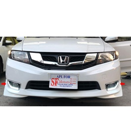 Honda City Maximus DRL Fog Lamps / Fog Lights Cover - Model 2015-2017-SehgalMotors.Pk
