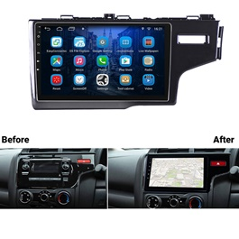 Honda Fit LCD multimedia IPS Display System Android - Model 2013-2019-SehgalMotors.Pk