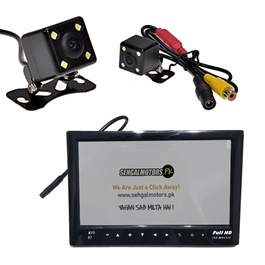 Maximus Reverse Moving CameraWith 7 inches TFT LED With Bluetooth Usb-SehgalMotors.Pk