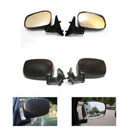 Suzuki Mehran Side Mirrors - Pair | Wide Angle | Anti Glare Lens -SehgalMotors.Pk