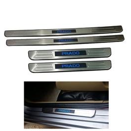 Toyota Prado Fj150 Prado Sill Plates / Skuff LED panels Style B - Model 2010-2017-SehgalMotors.Pk