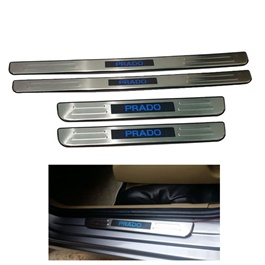 Toyota Prado Fj120 Prado Sill Plates / Skuff LED panels - Model 2010-2017-SehgalMotors.Pk