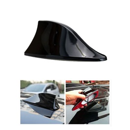 Universal Car Roof Radio AM/FM Signal Shark Fin Aerial Car Antenna Stylish Decorative Purpose -SehgalMotors.Pk