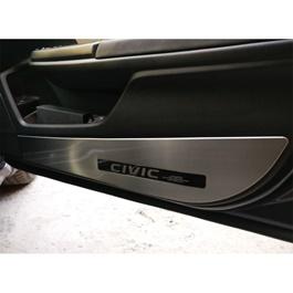 Honda Civic Anti Kick Door Protection Cover Chrome - Model 2016-2020-SehgalMotors.Pk
