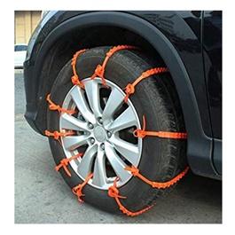 Emergency Anti-Skid Tire / Tyres Snow Chains - 10Pcs-SehgalMotors.Pk