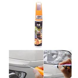 Car Scratch Filling Paint Color Pen Satin Silver  | Pro Mending Car Remover Scratch Repair Paint Pen Clear Painting Pen | Waterproof Car Auto Coat Scratch Clear Repair Paint Pen Touch up Remover Applicator Auto Care Tools-SehgalMotors.Pk
