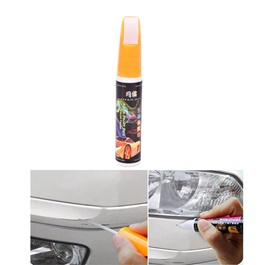 Car Scratch Filling Paint Color Pen Teffta White  | Pro Mending Car Remover Scratch Repair Paint Pen Clear Painting Pen | Waterproof Car Auto Coat Scratch Clear Repair Paint Pen Touch up Remover Applicator Auto Care Tools-SehgalMotors.Pk