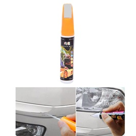 Car Scratch Filling Paint Color Pen Silver Gray | Pro Mending Car Remover Scratch Repair Paint Pen Clear Painting Pen | Waterproof Car Auto Coat Scratch Clear Repair Paint Pen Touch up Remover Applicator Auto Care Tools-SehgalMotors.Pk