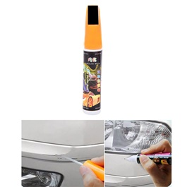 Car Scratch Filling Paint Color Pen Deep Black  | Pro Mending Car Remover Scratch Repair Paint Pen Clear Painting Pen | Waterproof Car Auto Coat Scratch Clear Repair Paint Pen Touch up Remover Applicator Auto Care Tools-SehgalMotors.Pk