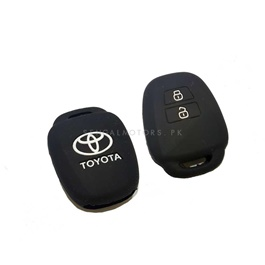 Toyota Vitz PVC / Silicone Protection Key Cover - Model 2014-2017	-SehgalMotors.Pk