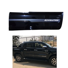 Toyota Hilux Revo Revolution Body Cladding Black - Model 2016-2020
