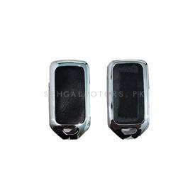 Honda Civic Key Shell Cover with Key Chain / Key Ring 3 button- Model 2016-2020-SehgalMotors.Pk
