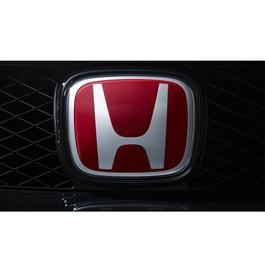 Mugen Honda Civic Front Logo Red (75700-S5T-E01) - Each -SehgalMotors.Pk