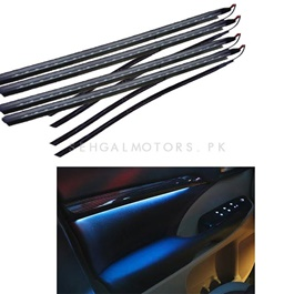 Toyota Land Cruiser Door Illumination Kit Wood - Model 2008-2019-SehgalMotors.Pk