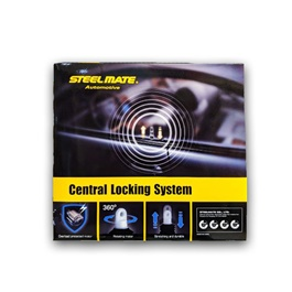 Steelmate Car Central Locking System | Lock System For Car | Central Locking Kit | Door Lock Keyless Entry System-SehgalMotors.Pk