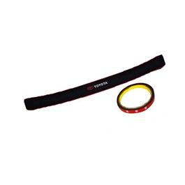 Universal Toyota Rubber Bumper Protector | Car Rear Bumper Trunk Scuff Protective Anti Scratch Sill Cover Guard Edge | Car Styling Accessories-SehgalMotors.Pk