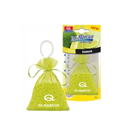 Dr Marcus Hanging Bag Fresh Air Freshener Car Perfume Fragrance- Lemon
