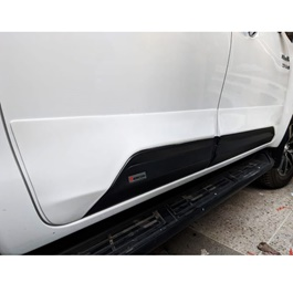 Toyota Hilux Revo Body Cladding Zercon White - Model 2016-2020-SehgalMotors.Pk