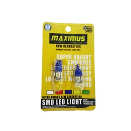 Maximus SMD 5 Parking Light Blue - Pair | Led Light Bulb For Parking | SMD Car Interior Reading Dome Lamps Parking Lights Car Accessories-SehgalMotors.Pk