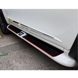 Toyota Hilux Revo Side Step Whiteline Foot Rest Cover White - Model 2016-2020-SehgalMotors.Pk
