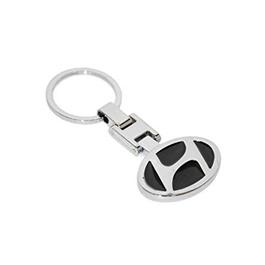 Hyundai Black Metal Key Chain / Key Ring | Key Chain Ring For Keys | New Fashion Creative Novelty Gift Keychains-SehgalMotors.Pk