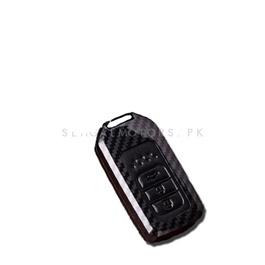 Honda Civic Key shell Keycase Carbon Fiber - Model 2016-2020-SehgalMotors.Pk