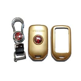 Honda Civic Key Protection Cover With Civic Logo Gold - Model 2016-2020-SehgalMotors.Pk