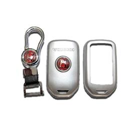 Honda Civic Key Protection Cover With Civic Logo Grey - Model 2016-2020-SehgalMotors.Pk