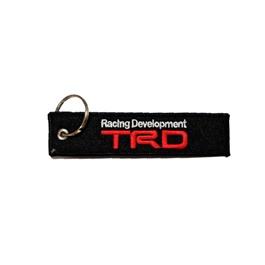 TRD Logo Cloth Key Chain / Key Ring | Key Chain Ring For Keys | New Fashion Creative Novelty Gift Keychains-SehgalMotors.Pk