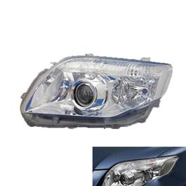 Toyota Corolla Axio Headlight / Head Lamp Crystal Left Side - Model 2006-2012-SehgalMotors.Pk