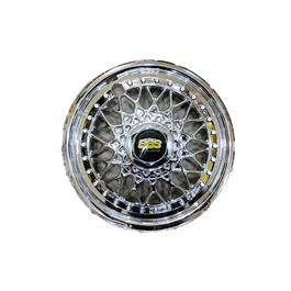 BBS Chrome Wheel Cover Diamond Style - 13 inches-SehgalMotors.Pk