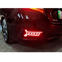 Honda Civic New Generation Rear Bumper Brake Lamp - Model 2016-2020-SehgalMotors.Pk