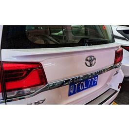 Toyota Land Cruiser ABS Plastic Trunk Spoiler - Model 2015-2018-SehgalMotors.Pk