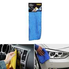 Maximus Microfiber Cloth 30 X 40 cm - Multi  | Auto Car Natural Drying Clean Cloth | Cleaning Cloth | Car Cleaning Towels Drying Washing Cloth | Car Care Cloth Detailing Car Microfibre Cloth-SehgalMotors.Pk
