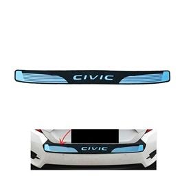 Honda Civic Chrome Trunk Rubber Bumper Protector - Model 2016-2020-SehgalMotors.Pk