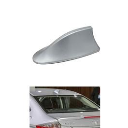 Honda City Ducktail Fin Car Antenna Stylish Decorative Purpose - Silver