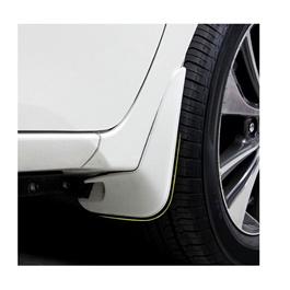 Toyota Corolla Mud Flap Set White - Model - 2014-2017-SehgalMotors.Pk