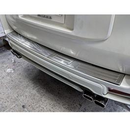 Toyota Prado Rear Bumper Protector Chrome - Model 2009-2019-SehgalMotors.Pk
