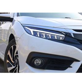 Honda Civic Audi Style Phantom Venom Style LED Headlights / Head Lamps Pair- Model 2016-2020-SehgalMotors.Pk