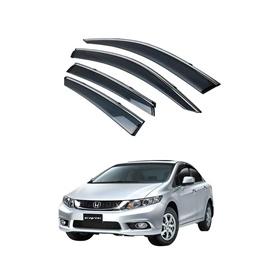 Honda Civic Air Press / Sun Visor With Chrome – Model 2012-2016-SehgalMotors.Pk