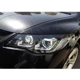 Honda Civic Black Projection Headlight / Head Lamp - Model 2006-2012-SehgalMotors.Pk