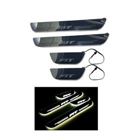 Honda Fit LED Sill Plates / Skuff LED panels - Model 2013-2019-SehgalMotors.Pk