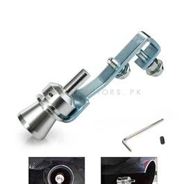 Car Exhaust Turbo Whistler Small | Turbo Bov Whistle Sound Muffler Exhaust Pipe Tip Insert Whistler | Fake Blow-off Simulator Whistler Vehicles Auto Accessories | Car Turbo Sound Exhaust Muffler Pipe Whistle -SehgalMotors.Pk