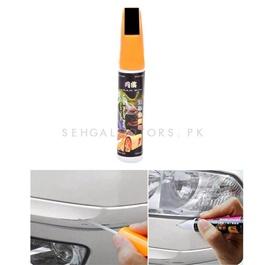 Car Scratch Filling Paint Color Pen Black  | Pro Mending Car Remover Scratch Repair Paint Pen Clear Painting Pen | Waterproof Car Auto Coat Scratch Clear Repair Paint Pen Touch up Remover Applicator Auto Care Tools -SehgalMotors.Pk
