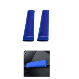Fancy Sporty Seat Belt Covers Blue Color | Seat Belt Covers | Seat Belt Shoulder Cover Pads-SehgalMotors.Pk