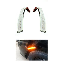 3M Colored Side Marker Fender LED Lamp White - Pair-SehgalMotors.Pk